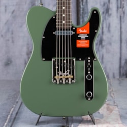 2020 Fender Limited Edition American Professional Telecaster, Solid Rosewood Neck, Antique Olive