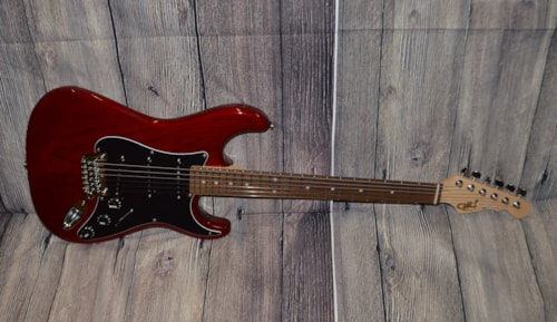 2020 G&L Legacy Clear Red