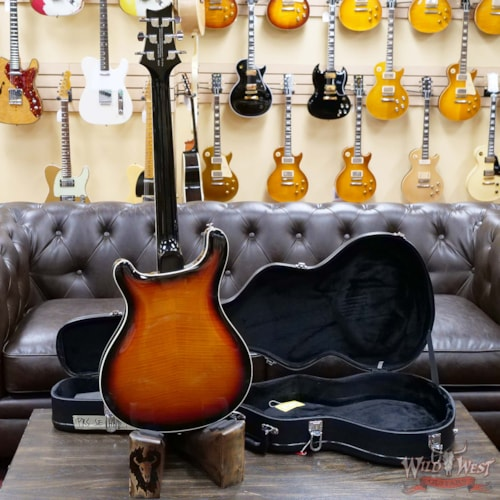 2020 Paul Reed Smith SE Hollowbody II Tri-Color Sunburst
