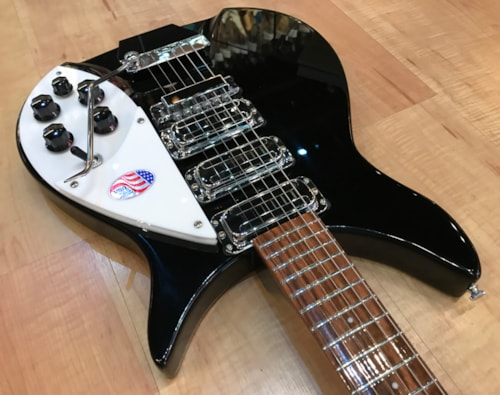 2020 Rickenbacker 325C64 Electric Guitar JetGlo