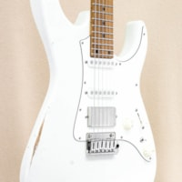 2020 Tom Anderson Guardian Angel Player NAMM 2020 Special - Olympic White (Distress Lvl 2)