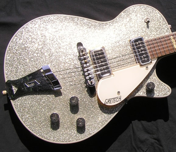 1957 Gretsch Silver jet 6129 no issues super clean One of the best!