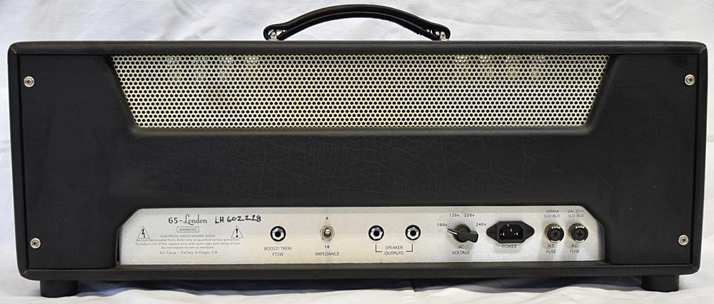 65 Amps London Black and Cream