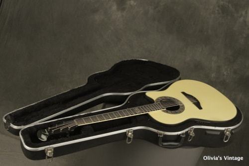'86 Ovation COLLECTOR'S Series PEARL WHITE speckled back 1986-6 20th Anniversary