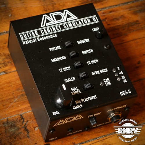A Da Gcs 5 Guitar Cabinet Simulator Di Box Effects Rock N Roll