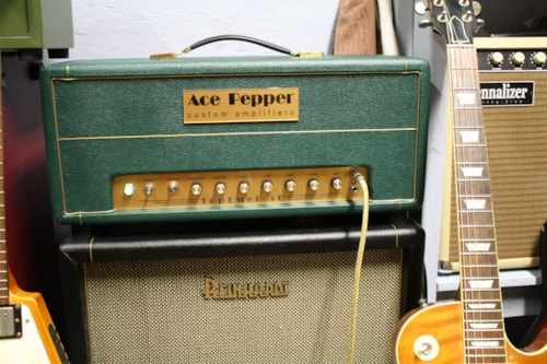 Ace Pepper Custom Amps Topfuel 50 Brand New