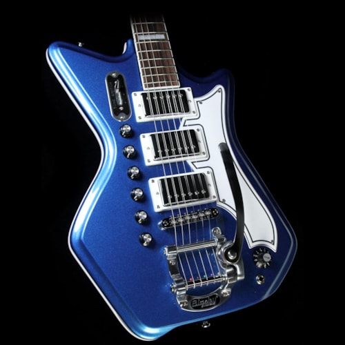 Airline Eastwood Airline '59 3P DLX G. Love Signature Black and Blue Excellent, $879.00