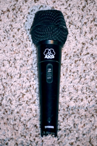 AKG D2300s Black, Very Good, $79.00
