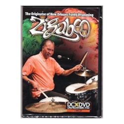 Alfred Music Zigaboo The Originator of New Orleans Funky Drumming