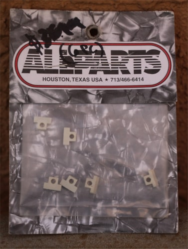 All Parts BP 0535-00T Old Style Bridge Saddles Tusq, Brand New, $36.95