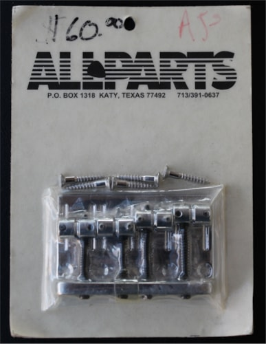 All Parts - Gotoh BB 356 Bass Bridge  Chrome, Brand New, $49.99
