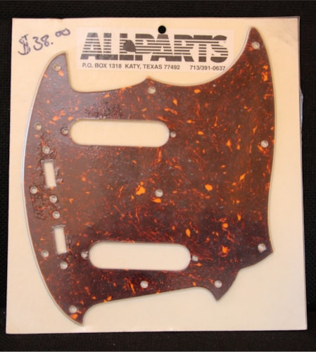All Parts Mustang Pickguard  Tortoise, Brand New