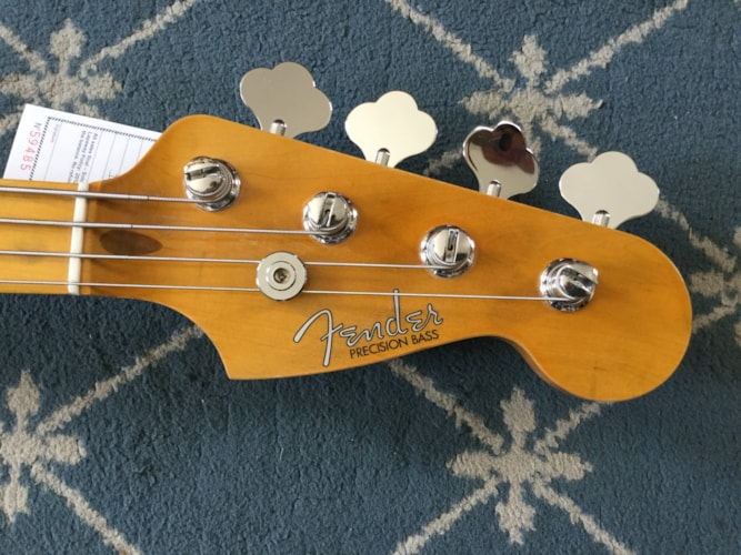 All Parts P-Bass Nitro Lacquer, Excellent, Call For Price!