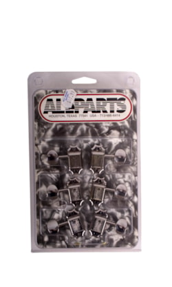 Allparts 3+3 Tuners w/ Metal Buttons