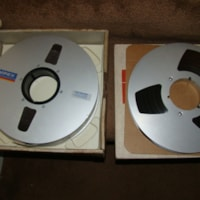Ampex Audio Mastering Tapes, Etc.