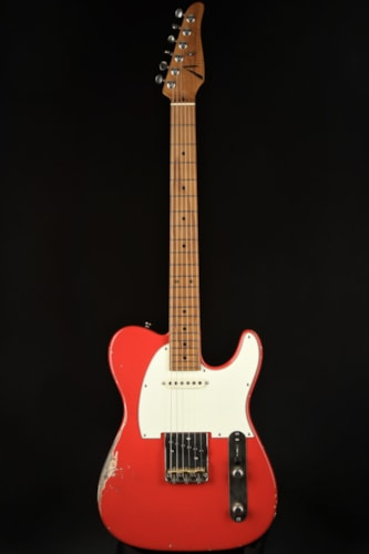 Tom Anderson T Icon - Fiesta Red/In-Distress Level 3