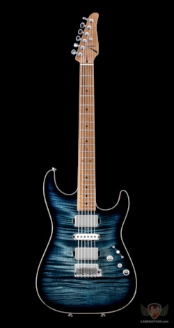 Anderson Guitarworks Tom Anderson Drop Top Flame Top - Arctic Blue Burst