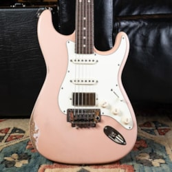 Anderson Guitarworks Tom Anderson Icon In-Distress - Shell Pink