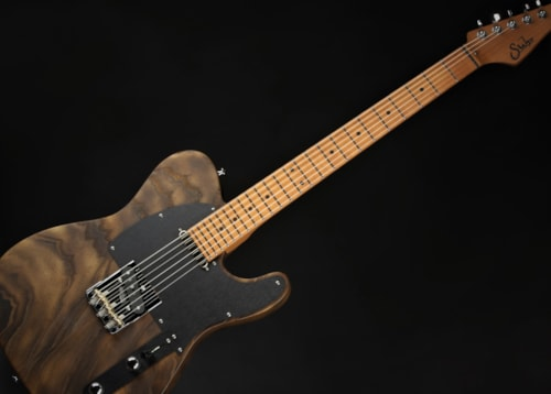 Suhr Andy Wood Signature SS Modern T - Whiskey Barrel