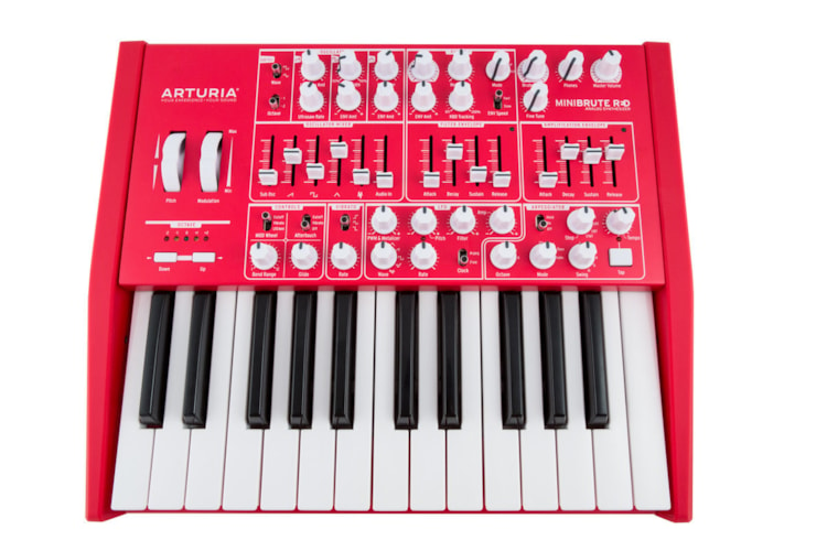 Arturia Minibrute Limited Edition in Red Brand New, $399.00