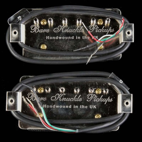 Bare Knuckle Ragnarok Humbucker Pickup Set Black Bobbins Brand New $294.50