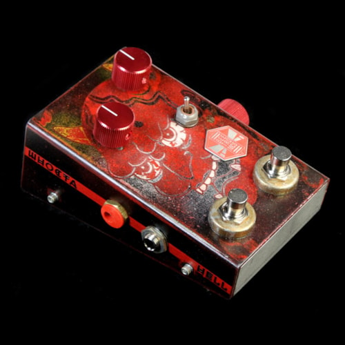 Beetronics WhoctaHell Low Octave Fuzz Custom Series Psycho Skull Effects Pedal Brand New, $280.00