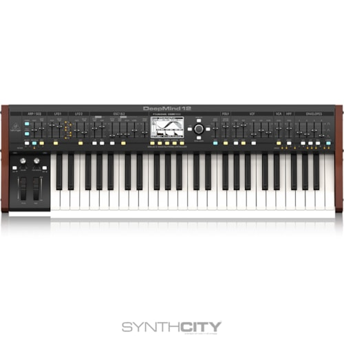 Behringer DeepMind 12 Polyphonic Analog Synth Brand New, $699.99