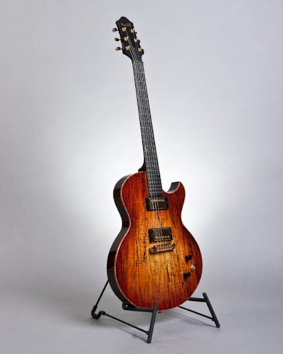 Benedetto Benny Spalted Maple, Brand New, Hard, $4,900.00