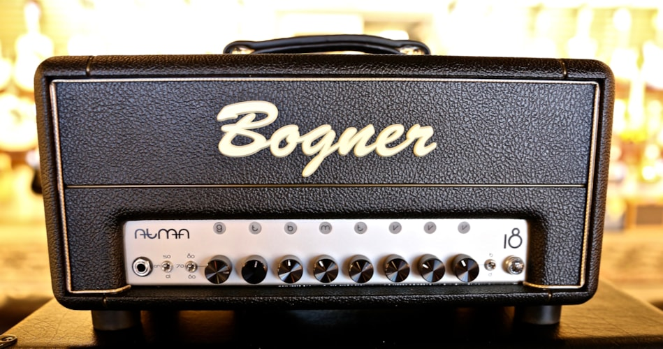 Bogner Amplifiers Atma Head Black, Brand New, $1,649.00