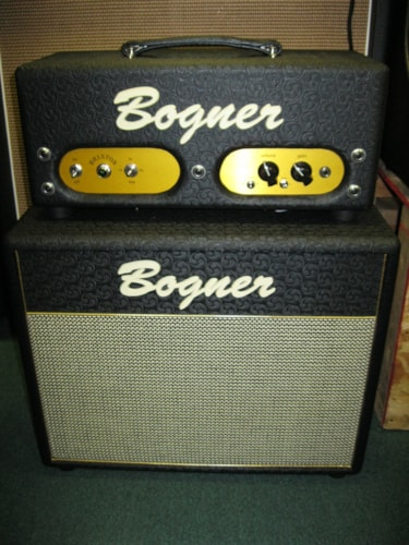 Bogner Brixton Head and matching 1x 12 cab Black, Brand New