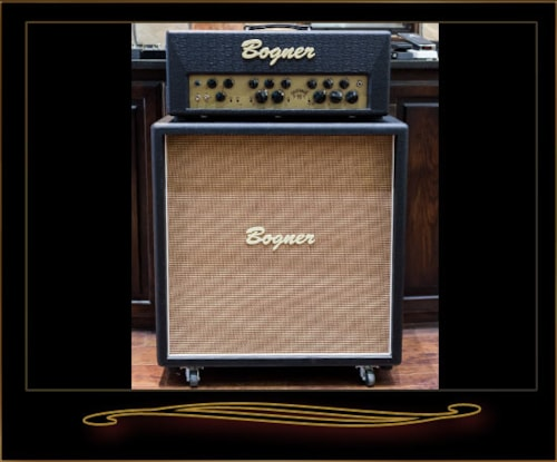 bogner goldfinger 90 head and 4x12 straight cabinet black amps preamps the guitar sanctuary. Black Bedroom Furniture Sets. Home Design Ideas