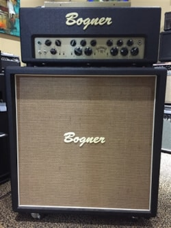Bogner Preowned Goldfinger 90 Head and 4x12 Straight Cabinet