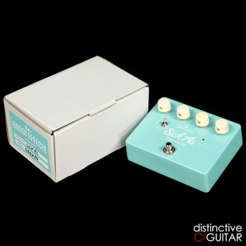 Bondi Effects Sick As Overdrive / Clean Boost Turquoise