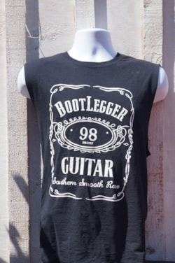 BootLegger Guitar Southern Smooth Raw No Sleves