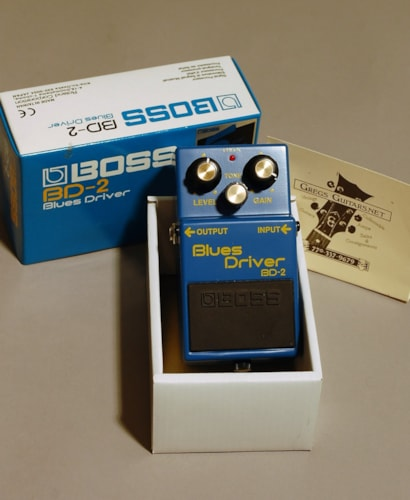 BOSS Blues Driver BD2 blue, Mint