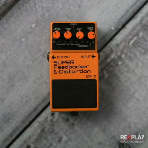 BOSS Boss DF-2 Super Feedbacker & Distortion Very Good, $49.99