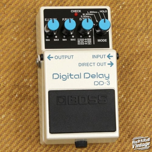 Boss DD-3 Digital Delay Pedal Brand New