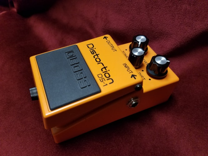 BOSS DS-1 Distortion Excellent, $35.00