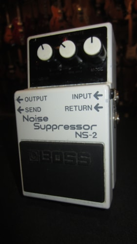 Boss NS-2 Noise Suppressor White, Very Good