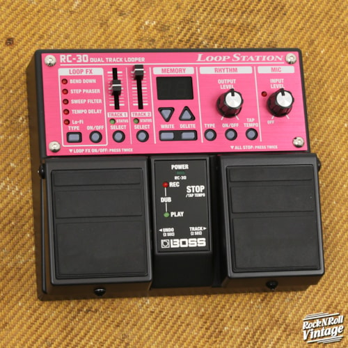 Boss RC-30 LoopStation Twin Pedal Brand New