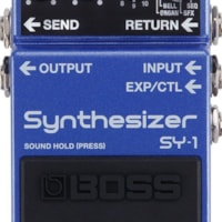 Boss SY-1 Synthesizer Pedal w/ 6 in. Patch Cable