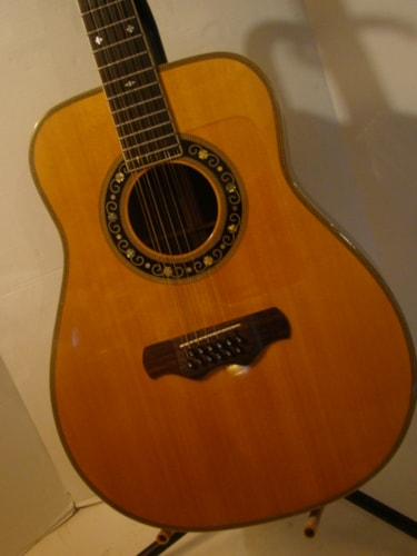 Bozo B-80S 12-String BELL WESTERN BODY/Japanese Excellent, Original Hard