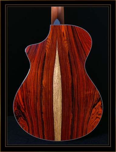 Breedlove Custom Concert in Cocobolo with Sinker Redwood Top Gloss Natural
