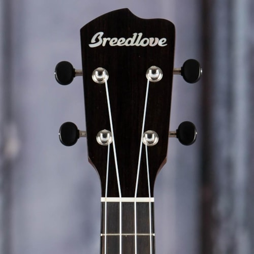 Breedlove Lu'au Concert Acoustic/Electric Uke, Natural