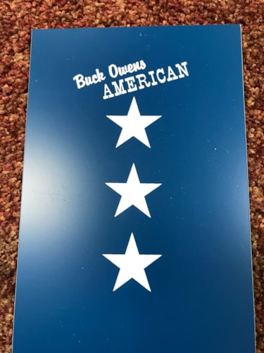 BUCK OWENS BUCK OWENS  Blue & White, Brand New