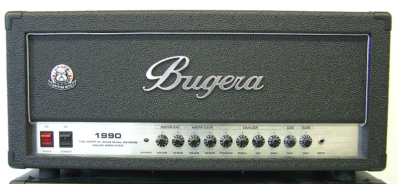 BUGERA 1990 Black, Brand New, , Call For Price!