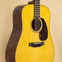 C.F. Martin Custom Shop D-18 - Bearclaw Sitka Spruce Top w/ Quilted Mahogany Back and Sides
