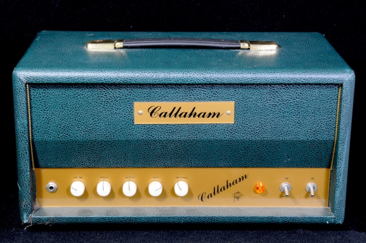 Callaham Liverpool Greenish Tolex Very Good