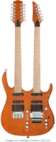 Carvin Model:  Double Neck
