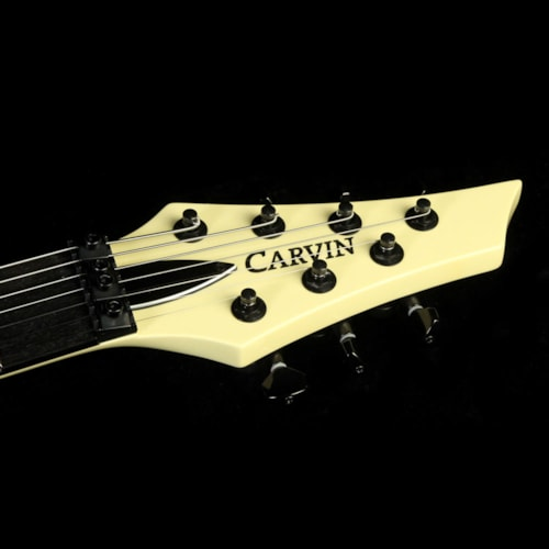 Carvin Used Carvin DC7XC 7-String Neck Through Electric Guitar  Vintage Cream Excellent, $999.00